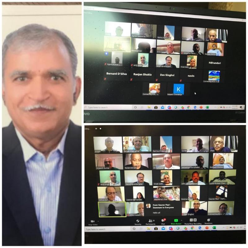 COVID-19 vs Global Peace BITS Pilani Alumnus Proud to be BITSian Dr Kanak Madrecha Chairs Online Global Peace Conference
