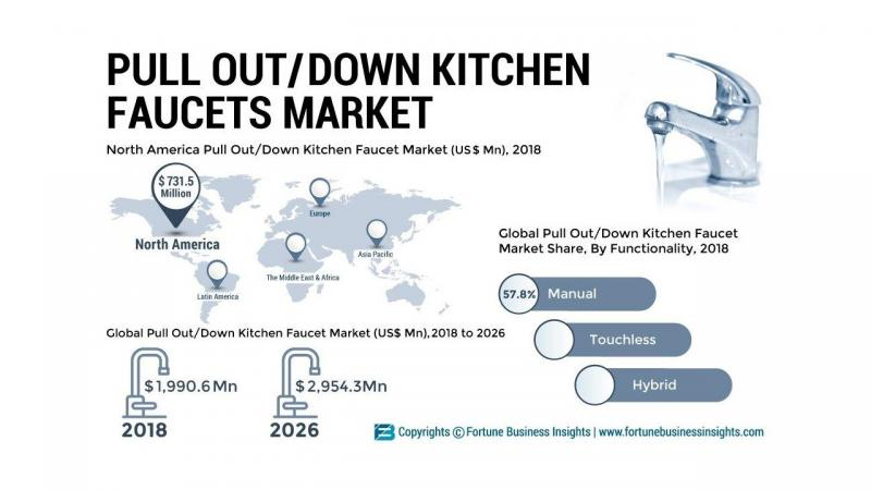 What's driving the Pull Out and Pull Down Kitchen Faucet Market