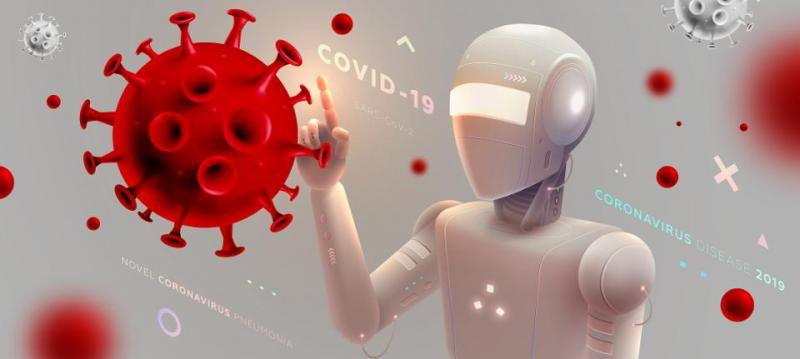 Smart Robot: Robots Help To Fight Coronavirus Worldwide COVID-19