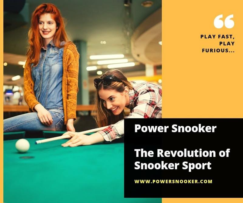 Power Snooker - cue the Revolution
