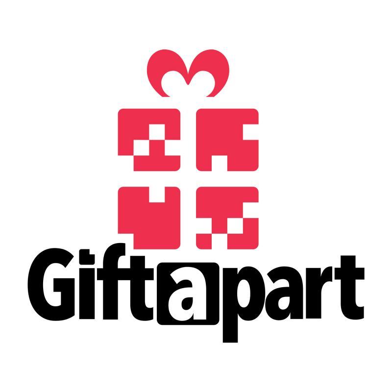 Giftapart logo. Https://Giftapart.com