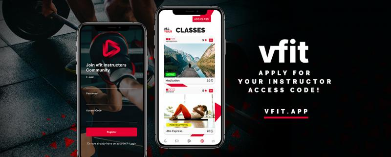 """Vfit - The """"Airbnb"""" of Fitness, Dance, Yoga, Meditation and Martial Arts has arrived!"""