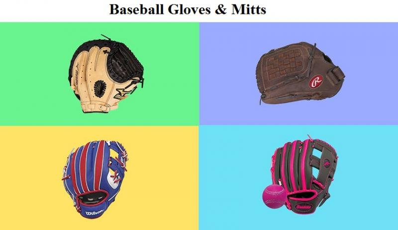 Baseball Gloves & Mitts Market