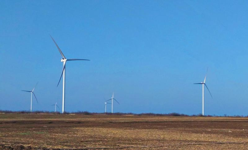 Orlovka wind farm: Wind energy in Ukraine