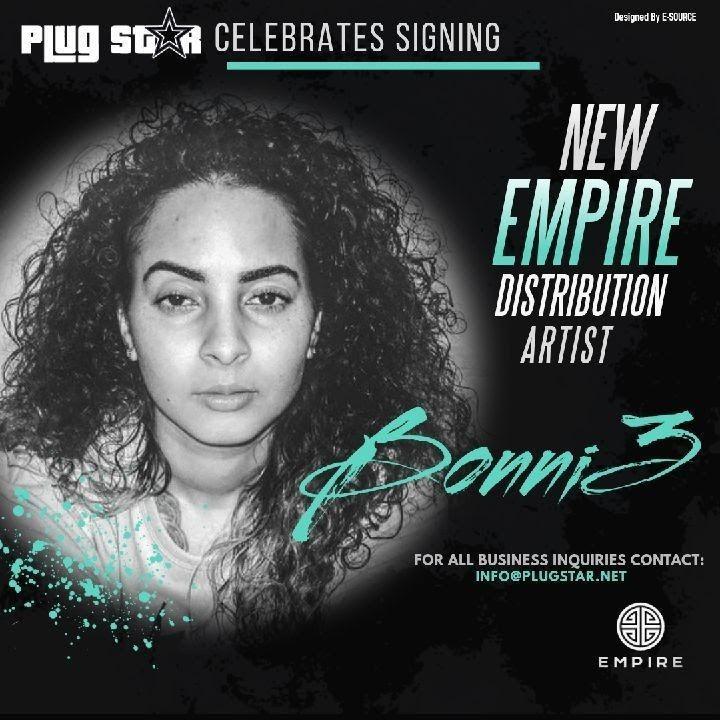 Bonni3, Music Artist