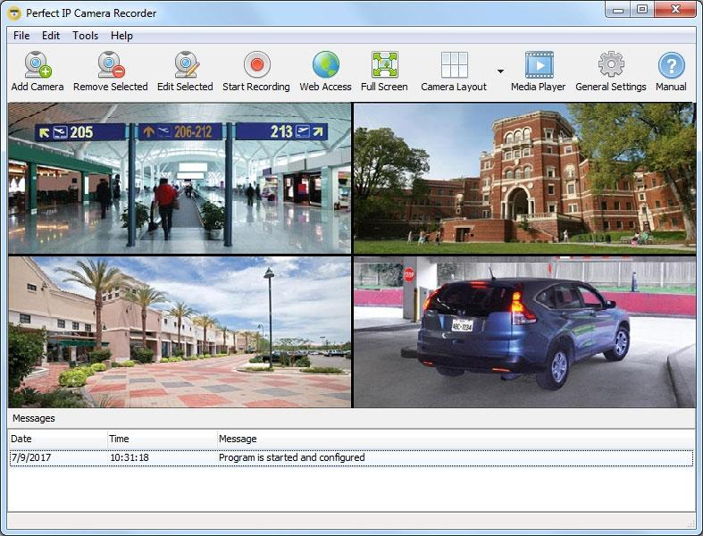 Security Camera Recorder Software Market: Competitive