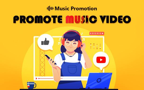 Promote music video