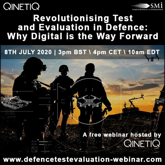 Revolutionising Test and Evaluation in Defence: Why Digital is the Way Forward [WEBINAR]