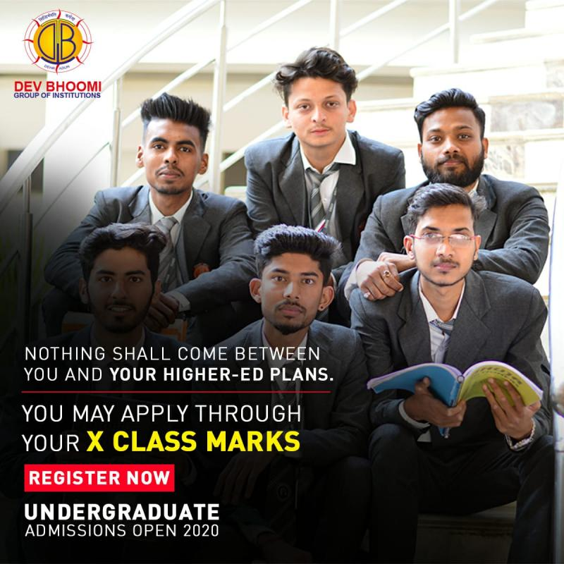Dev Bhoomi Group of Institutions - Admission 2020