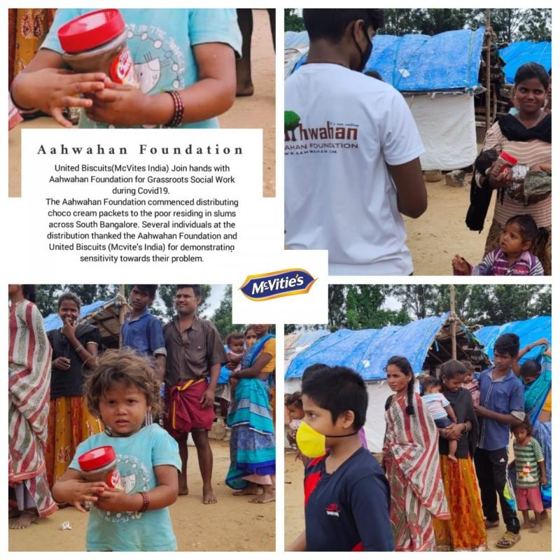 Aahwahan Foundation with United Biscuits