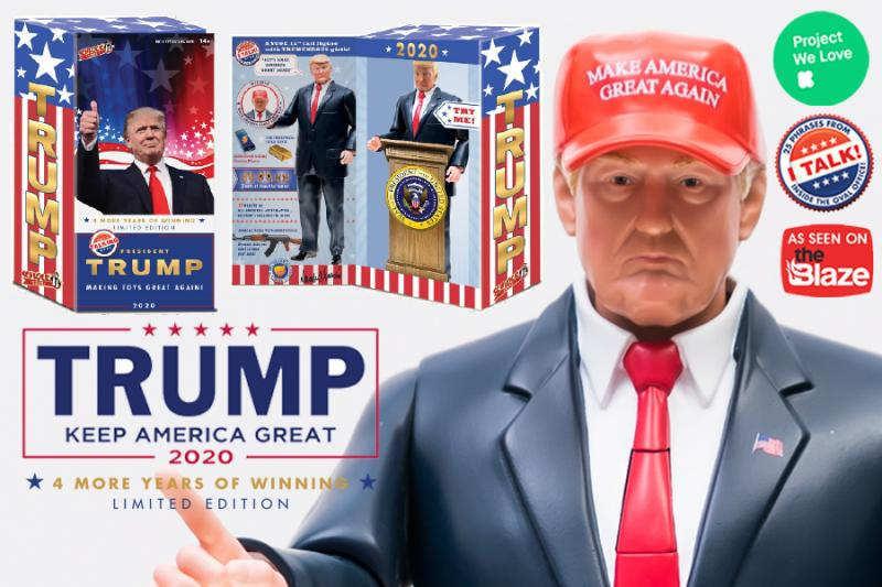 Featured on Tomi with Fox News host Tomi Lahren! SCHLOCK TOYS join forces with Kickstarter to Make Toys Great Again!