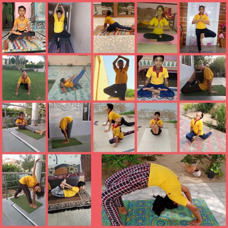 Pilani Lead School JMA Celebrates International Yoga Day