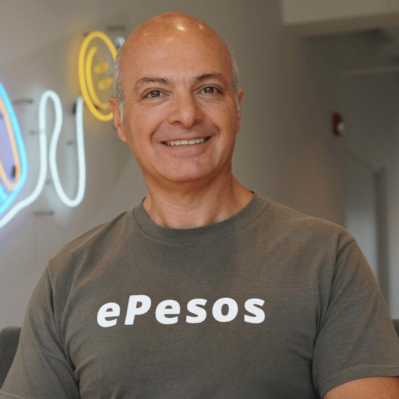 Oscar Robles, CEO of ePesos