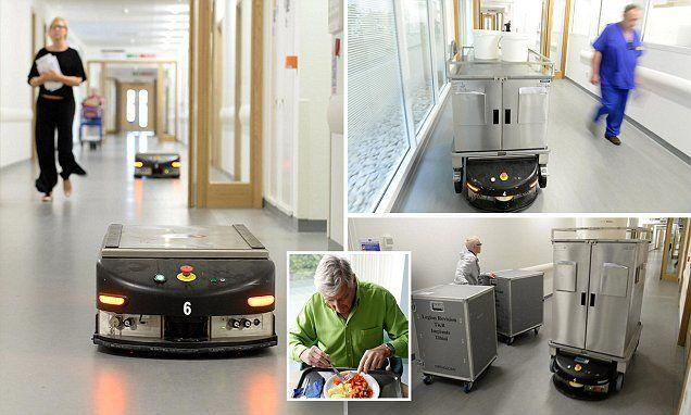 Hospital Automated Guided Vehicle (AGV)