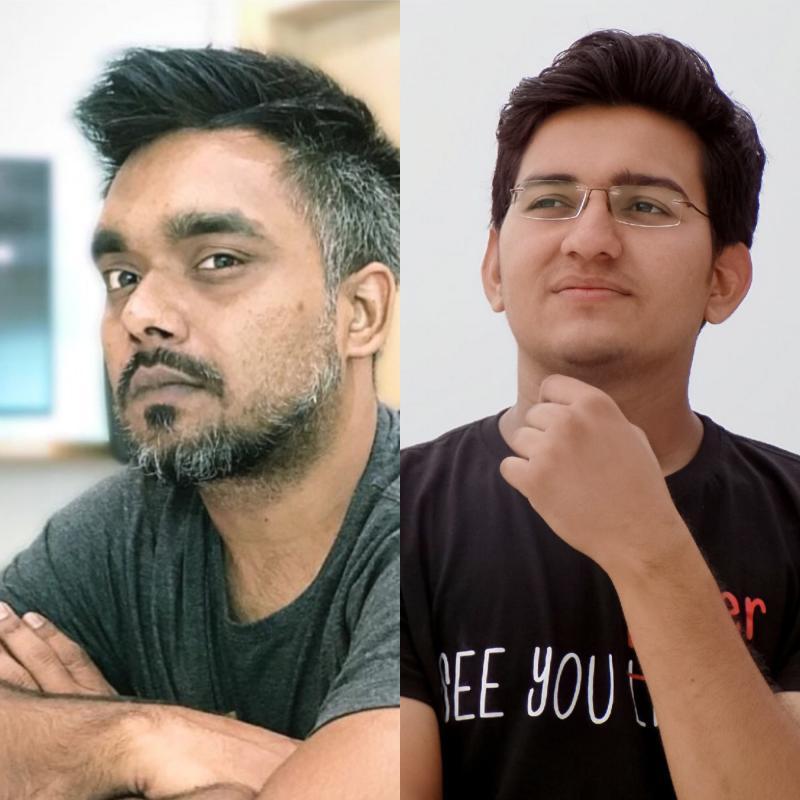 Vayu Srivastava & Mukesh Officials