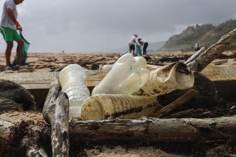 Young innovators are coming up with solutions to deal with beach plastic waste
