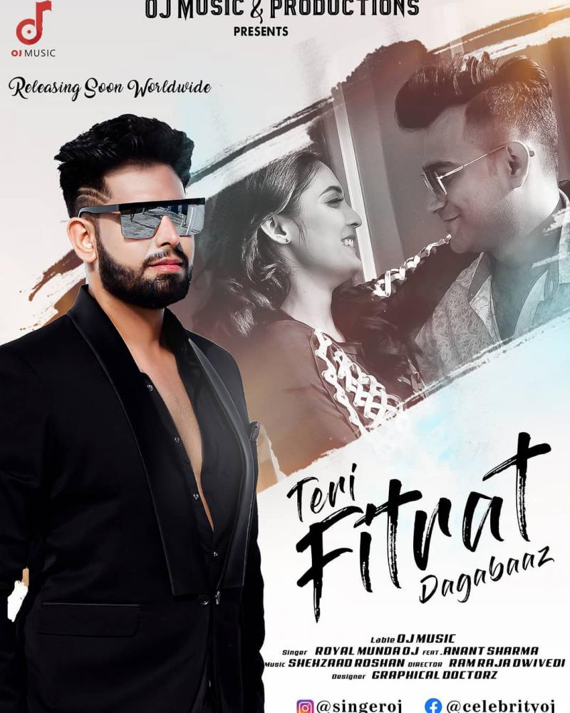 Poster of Upcoming song Teri Fitrat Dagabaaz
