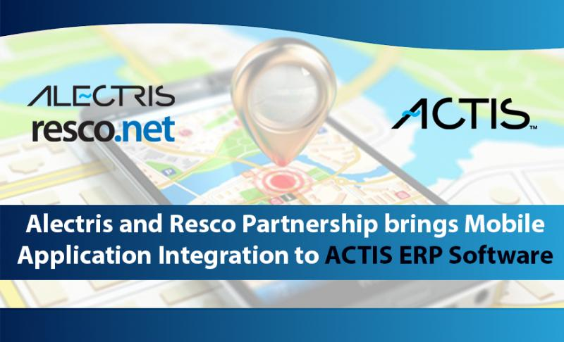 ALECTRIS AND RESCO PARTNERSHIP BRINGS MOBILE APPLICATION
