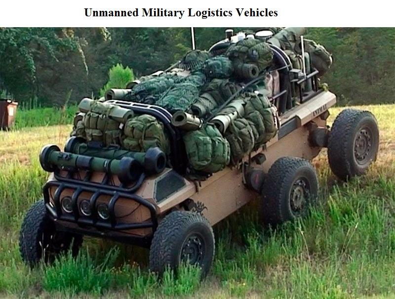 Unmanned Military Logistics Vehicles Market
