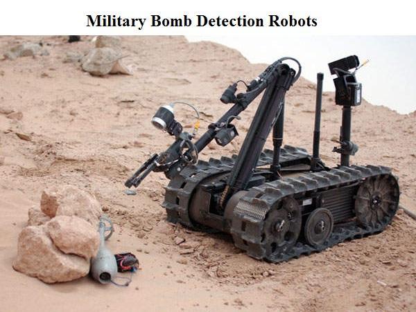 Military Bomb Detection Robots Market