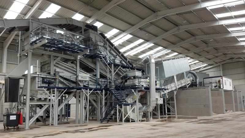 FLAGSHIP RECYCLING SOLUTION: Kiverco delivered Remondis' first UK plant -now considered a flagship operation for the company.