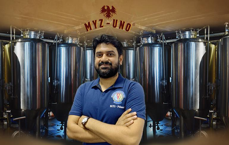 MYZ-UNO First & Biggest Micro-Brewery of AP Mission with Passion of BITS Pilani Alumnus Bharat Kamma
