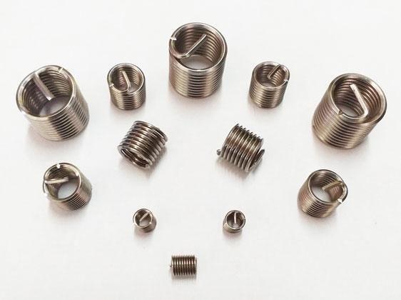 Wire thread inserts are available from Challenge Europe