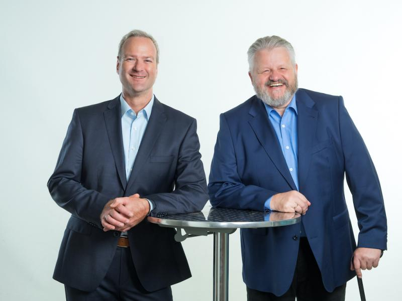KnowledgeRiver's founders Sven Bittlingmayer and Jens Wissenbach are optimistic about the future.