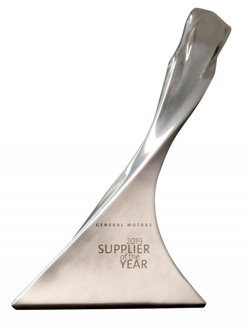 GM Supplier of the Year 2019 Award