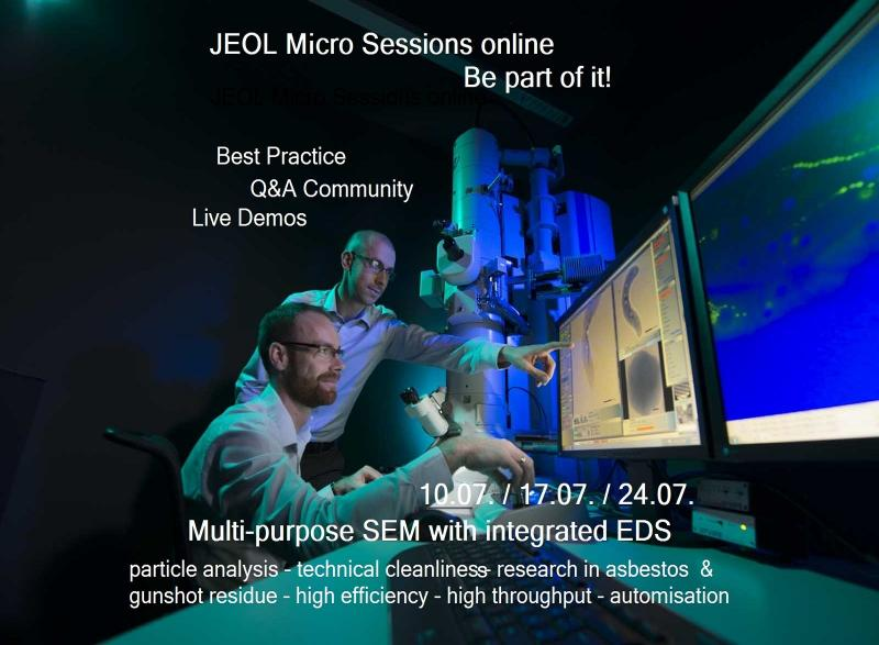 Micro Sessions at JEOL