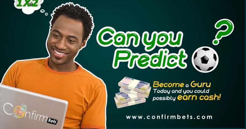 Confirmbets pays soccer lovers/tipsters for predicting soccer