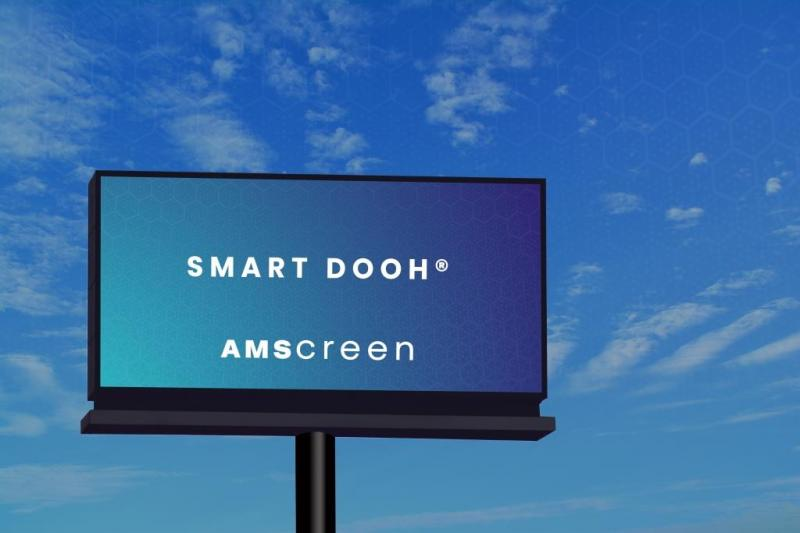 Amscreen launch the first SMART DOOH® LED Billboard