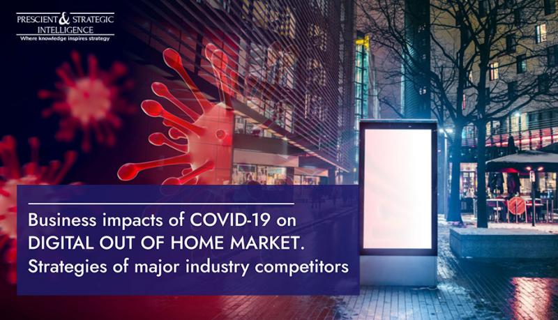 Digital Out of Home Market Growth Declines, However COVID-19