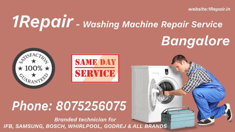 Washing Machine Repair Service in Bangalore