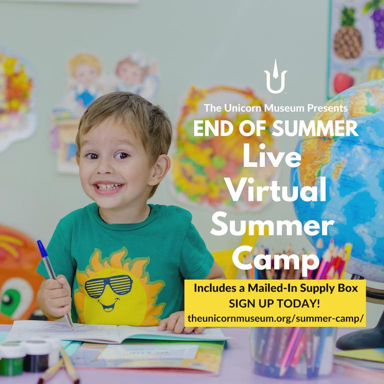 The Unicorn Museum Launches Virtual Summer Camps in the Face
