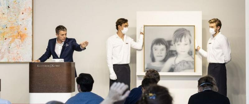 R. Ketterer realizes ? 2,625,000* for G. Richter?s painting and sets a Continental European record