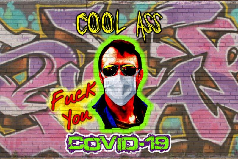 """Marc Marut has now become a rock star and has a new hit song out called """"Fuck You COVID-19!"""""""