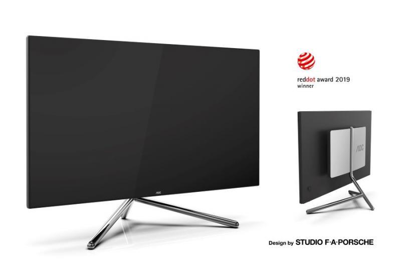 Brilliant in design and display technology: the AOC U32U1
