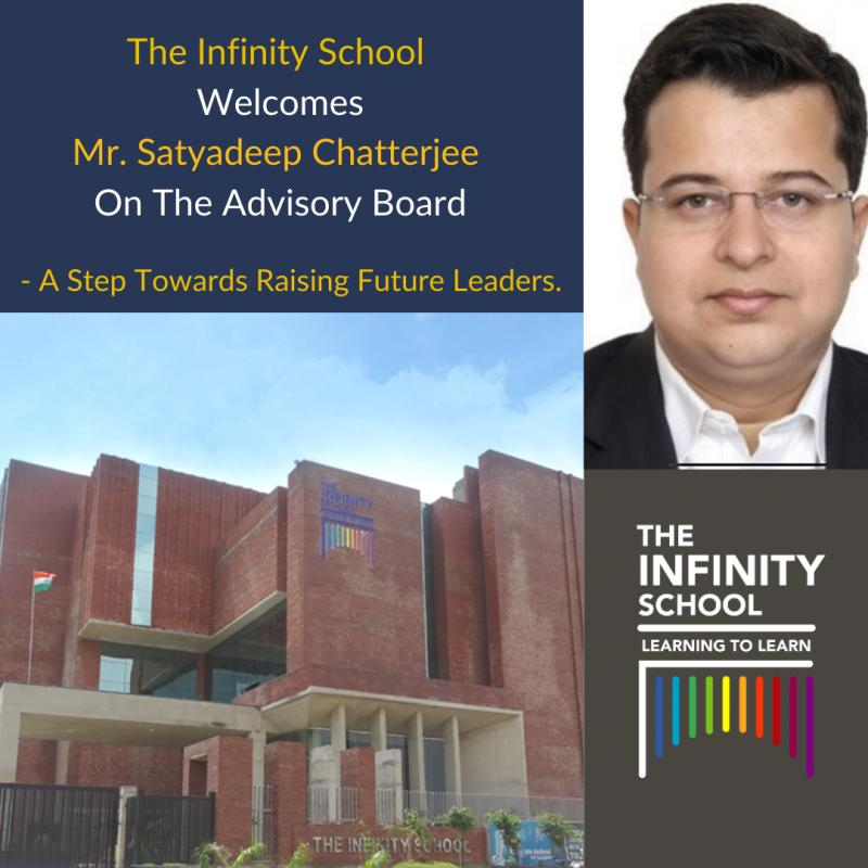 The Infinity School Welcomes Mr. Satyadeep Chatterjee On The Advisory Board