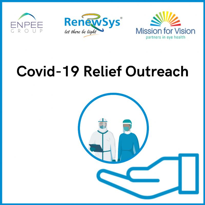 RenewSys COVID-19 relief outreach