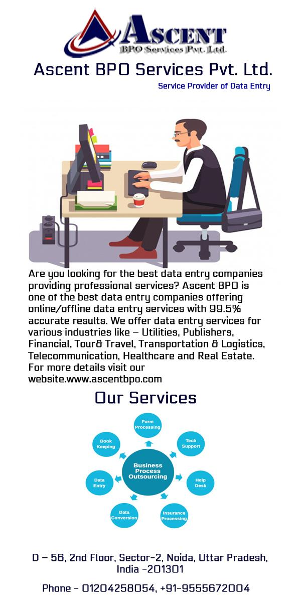 Data Entry Projects Outsourcing