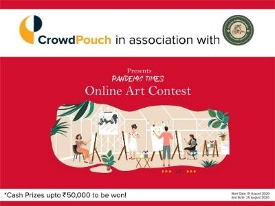 Online Art Contest 'Pandemic Times' with Cash Prizes over