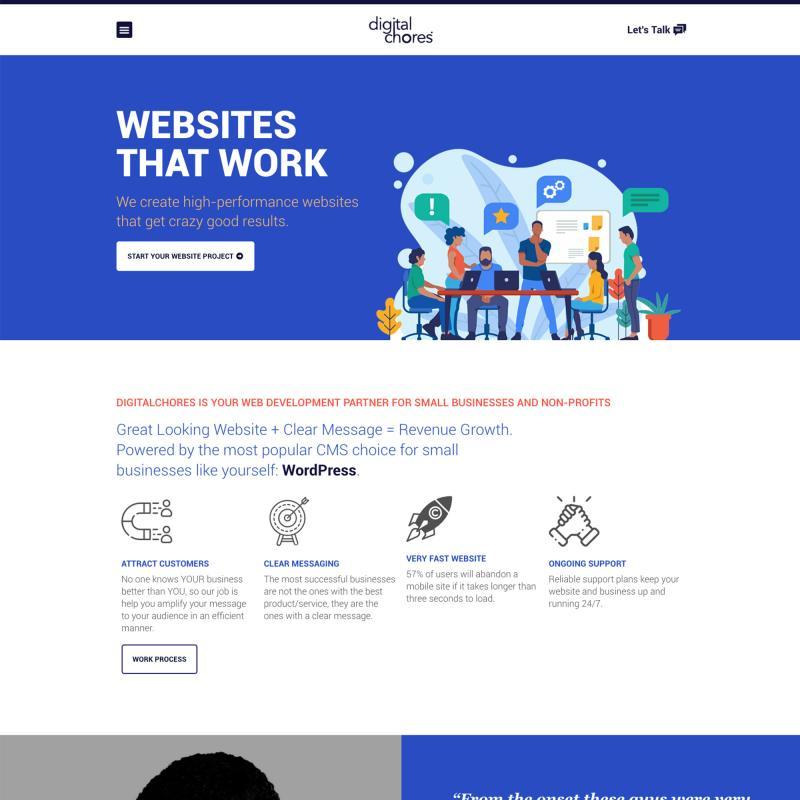 Digitalchores Web Design Development Digital Marketing