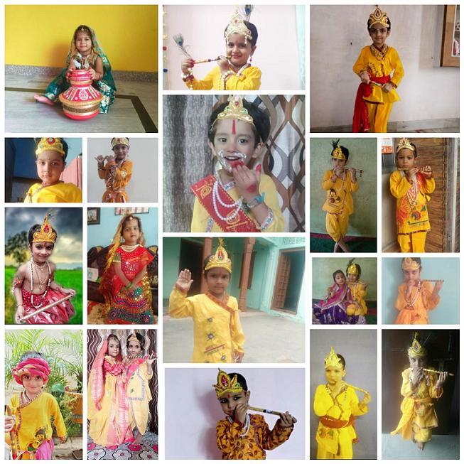 Celebrations Galore – Lord Krishna Birthday Janmashtami 2020 at JMA Pilani Rajasthan