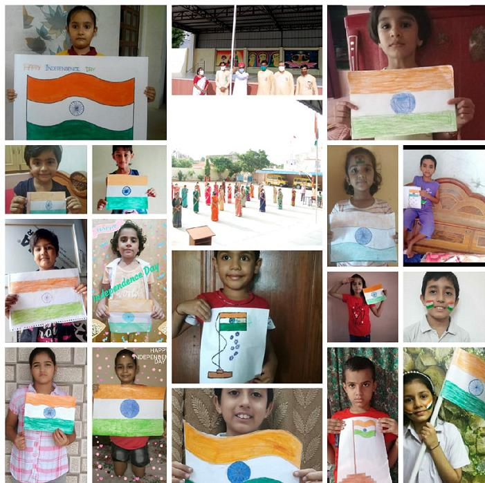 JMA Pilani Rajasthan Celebrates 74th India Independence Day