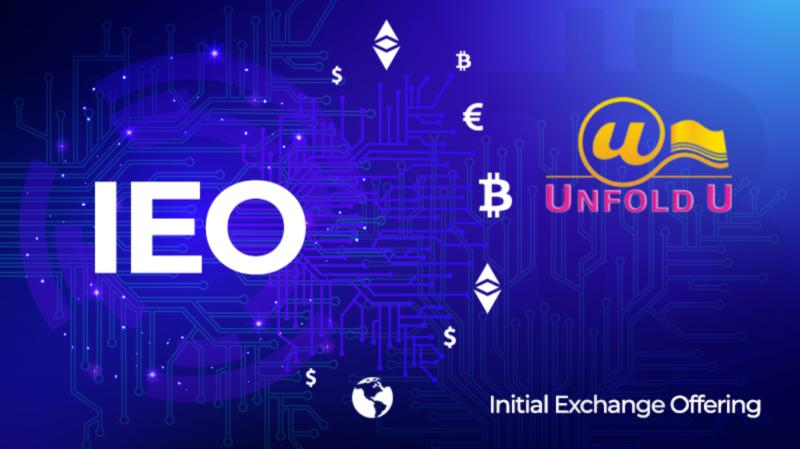 UnfoldU Group Forward Split, IEO On Charts