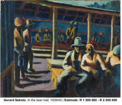 In the beer Hall by Gerard Sekota