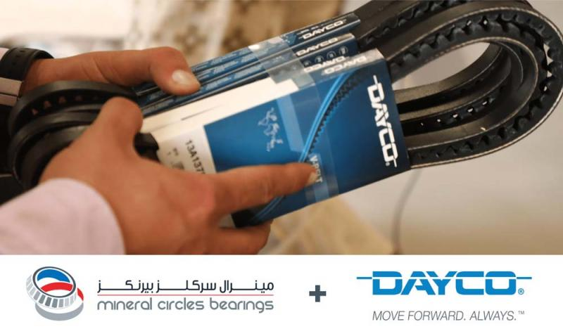 Mineral Circles And Dayco Team Up To Support The Burgeoning Aftermarket Service Demand In The MEA Region