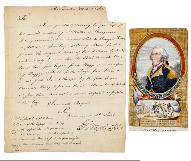 Items signed by Washington, Lincoln, JFK and Jackie, Einstein,