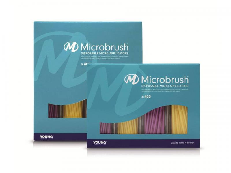 Microbrush® is committed to environmentally friendly packaging. ©Young Innovations